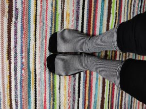 Diabeetikolle suunnatut kiristämättömät sukat